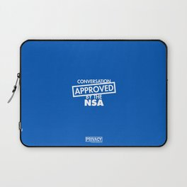 Conversation Approved by the NSA Laptop Sleeve