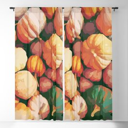 Pumpkins #fall #autumn #halloween #october #vegatable #cuisine #chef Blackout Curtain
