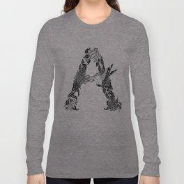 """""""A"""" Long Sleeve T-shirt"""