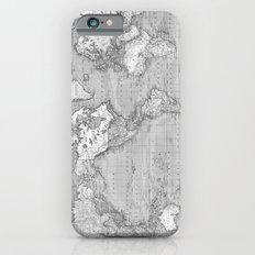 Atlas of the World iPhone 6s Slim Case
