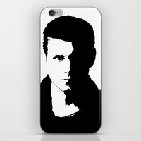 dean winchester iPhone & iPod Skins featuring Dean Winchester by redheadedwalker