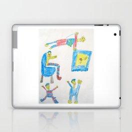 Dad's Workout Time Laptop & iPad Skin