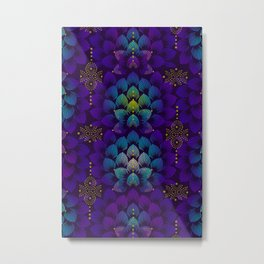 Variations on A Feather IV - Stars Aligned Metal Print