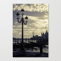 venice Canvas Prints featuring Venice. by Michelle McConnell