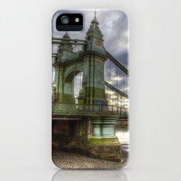 Hammersmith Bridge London iPhone Case