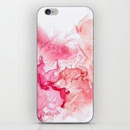 Red fog iPhone Skin