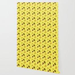 flor amarillo Wallpaper