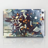 sagan iPad Cases featuring Big Bang by Travis Clarke