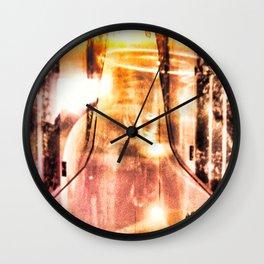 """""""Light In A Bottle"""" Wall Clock"""