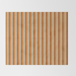 """Orange, Grey & Beige Deco Lines"" Throw Blanket"
