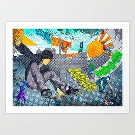 Zero Gravity - XTreme Art Print