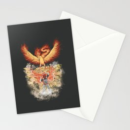 Fire Bird Encounter Stationery Cards