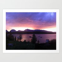Jackson Lake Art Print
