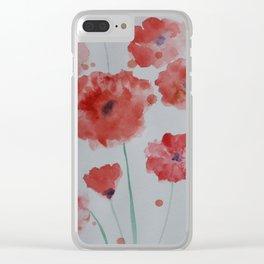 PoppyField Clear iPhone Case