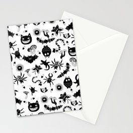 Ghibli creatures Stationery Cards
