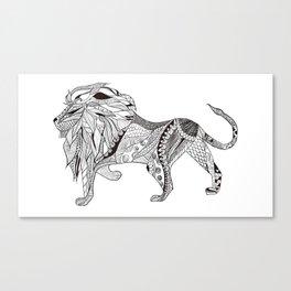 Ethiopian lion Canvas Print
