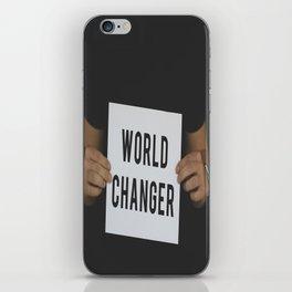 World Changer iPhone Skin