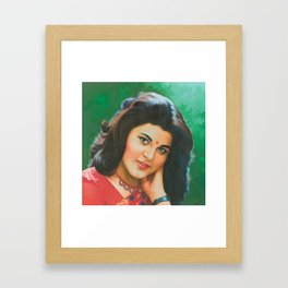 Janoo - Kushboo Framed Art Print
