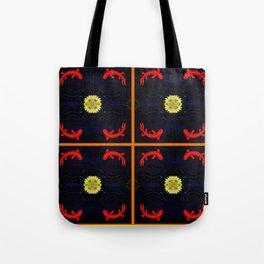 Koi Ying and Yang - Symmetrical Art2 Tote Bag