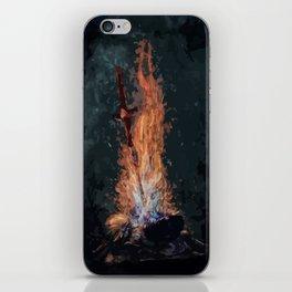 A bonefire iPhone Skin