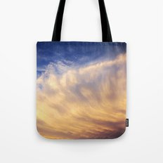Wave on Fire Tote Bag