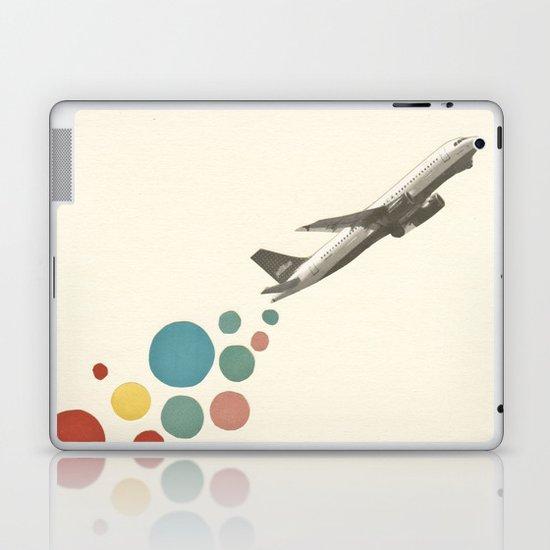 Leaving on a Jet Plane Laptop & iPad Skin