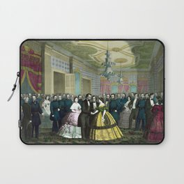 President Lincoln's Last Reception Laptop Sleeve