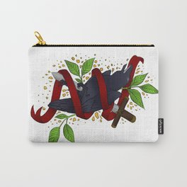 The Raven and the Sword Carry-All Pouch