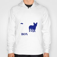 bonjour Hoodies featuring Bonjour by Laura Maria Designs