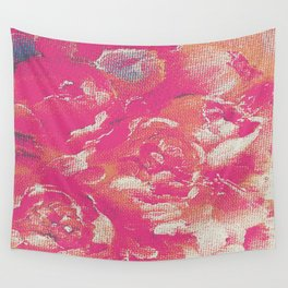 flower peone Wall Tapestry