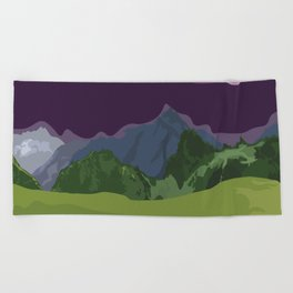 Iceland Beach Towel