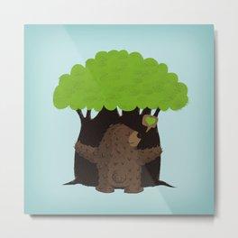 LOVE TREES Metal Print