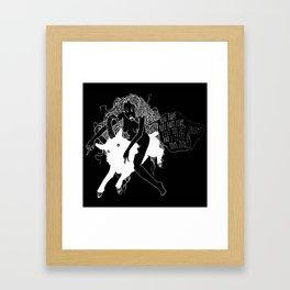 B O N E S Framed Art Print