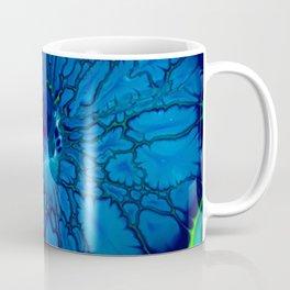 Indigo hibiscus Coffee Mug