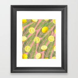 Lemons #society6 #decor #buyart Framed Art Print