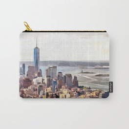 New York, panoramic view, USA Carry-All Pouch