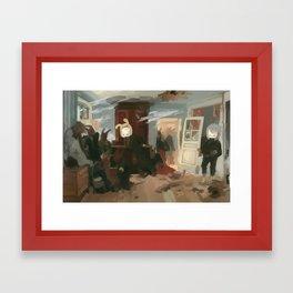 The House of the Last Cartridge Framed Art Print
