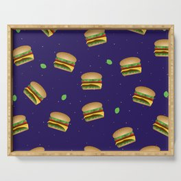 Cheeseburger Dreams Serving Tray