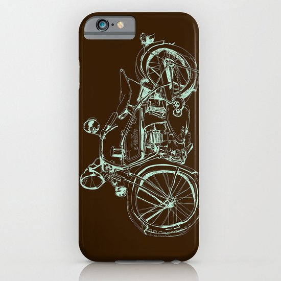 Vintage Indian Motorcycle iPhone & iPod Case