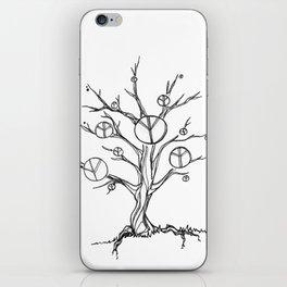 Peace Tree iPhone Skin