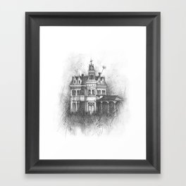 The Creepy and the Kooky Framed Art Print