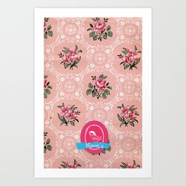 Merel's Case 2 Art Print