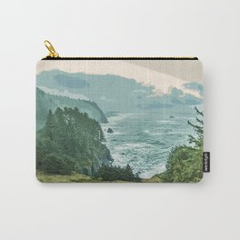 Oregon Coast Sunrise in Simplified Color Carry-All Pouch