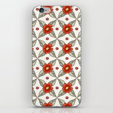 Guild of flowers and leaves iPhone & iPod Skin