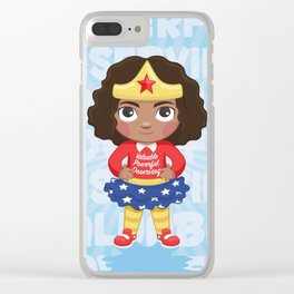 Never Doubt Clear iPhone Case