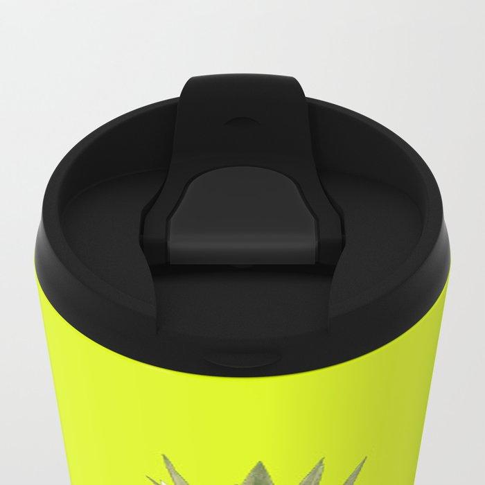 Sweet Pineapple Metal Travel Mug