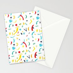 Funky Pastels Stationery Cards