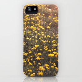 Flowery Field iPhone Case