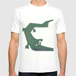 Snapping vintage Alligator T-shirt