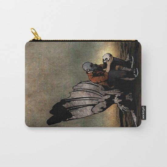 The Angel And The Skull Carry-All Pouch